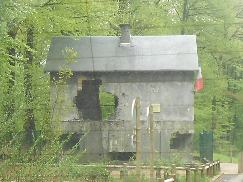 Maison construite sur un ancien bunker