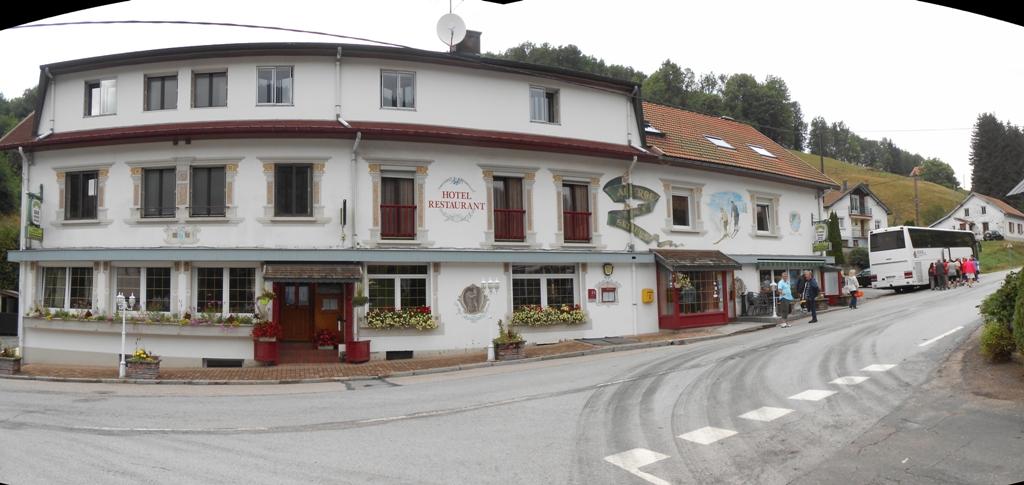 Panorama de l'hotel réalisé par Fabian