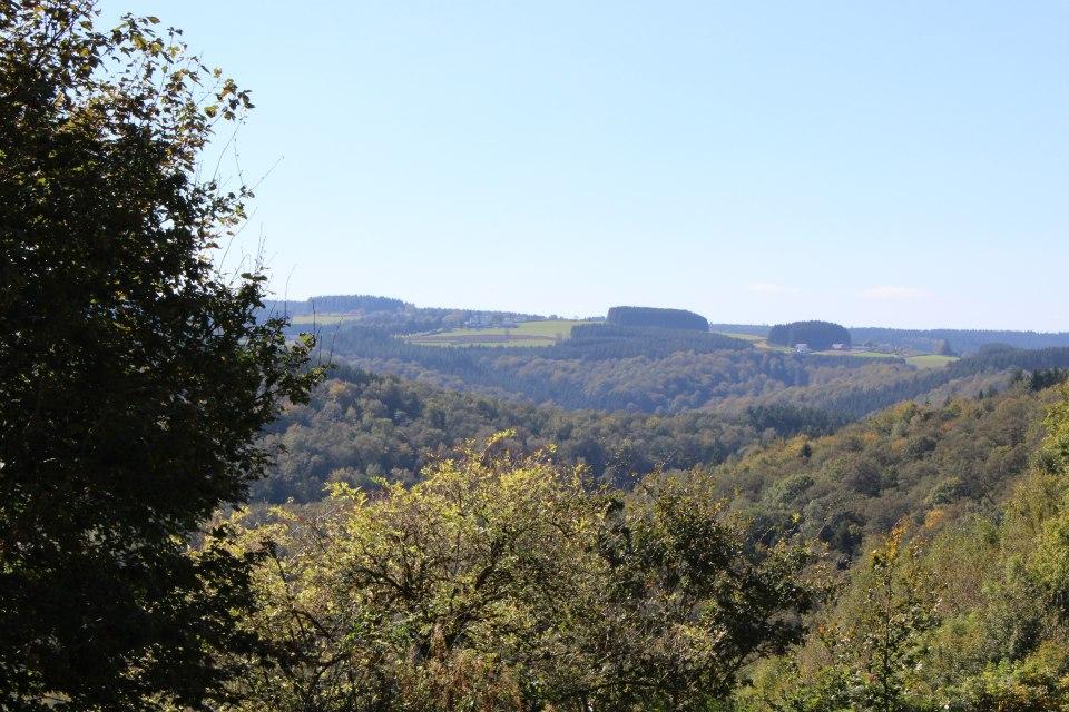 paysage alentour de bouillon
