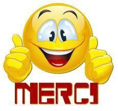 Emoticone merci